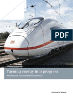 Traction Transformers From Siemens