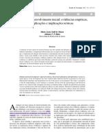 BRASIL (2014). Diretrizes de Atenção à Reabilitação Da Pessoa Com Transtornos Do Espectro Do Autismo (TEA)