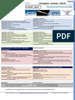 Aerospace Summer School Programme