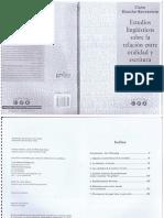 Blanchè- Benveniste Lo hablado y lo escrito.pdf