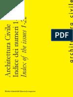 Catalogo Architettura Civile