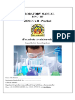 Lab Manual Biology- AGR 2 Sem
