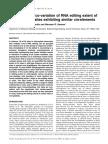 Developmental co-variation of RNA editing extent of plastid editing sites exhibiting similar cis-elements.pdf