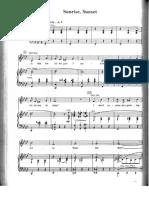Sunrise Sunset [Fiddler] - Bock and Harnick.pdf