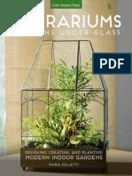 Terrariums - Gardens Under Glass Designing Creating and Planting Modern Indoor Gardens