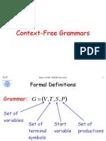 2. Context Free Grammars