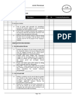Risk Evaluation Form