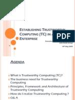 Frost-Sullivan-Establsihing Trustworthy Computing for an Enterprise - Ramesh than - V1