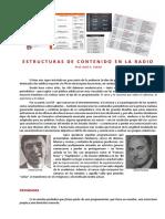 FALCINI, Ariel - Estructuras de Contenido en La Radio