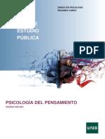 Guía de Estudio UNED Psicología Del Pensamiento