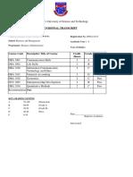 Provisional Results Dba21417