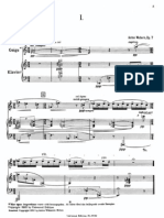 Webern - Four Pieces for Violin and Piano Op. 7