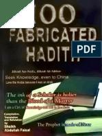 100FabricatedHadith-IslamicEnglishBook.pdf