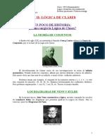 2018-7-25 - Escuela Del Magisterio - Lógica - Eje 2 - Logica de Clases - Introduccion, Conceptos Basicos y Diagramas de Euler - Apunte y Guia de Actividades