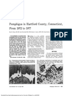 Pemphigus in Hartford County, Connecticut From 1972 to 1977