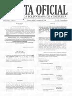 Gaceta Oficial Extraordinaria 6.391