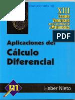 Cálculo Diferencial y Aplicaciones - José Hector Nieto Said - 1ed