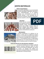 Album de Las Fuentes Materiales e Inmateriales