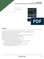 Bộ Trộn MGP16X_datasheet