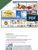 Clasificacion de Los Alimentos y Piramide Alimenticia Con Letra ANIMALES IMAGENES
