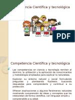 Competencia Científica y Tecnológica