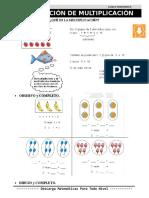 16 Noción de Multiplicación Segundo de Primaria