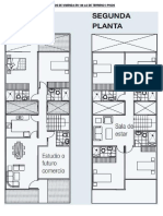 Planos de Vivienda en 140 m2 de Terreno 3 Pisos