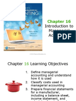 Chapter 16 - Intro to Managerial Accounting