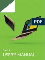 User's Manual Swift 7