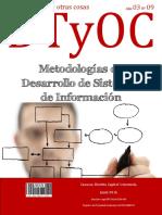 Metodologias de Desarrollo de Sistemas de Informacion