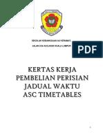 Kertas Kerja Pembelian Asc Timetables