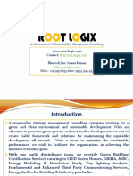Green Building Profile ROOT LOGIX