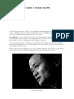 Si a Los 35 Años Eres Pobre, Lo Mereces_ Jack Ma