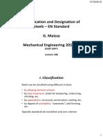 Lecture 10b - Designation of Steels - En Standard - 2PP