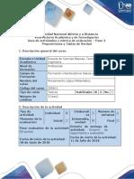 Guía de actividades y rúbrica de evaluación – Paso 2 Proposiciones y Tablas de Verdad .pdf