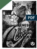 Genesis de La Cultura Andina Carlos Milla Villena PDF