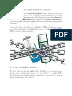 Cómo Proteger Tu USB Con Contraseña