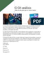 LG G6 Un Análisis Un Celular de Alta Gama Que No Cuesta 'Mucho'