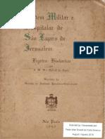 Ordem Militar e Hospitalar de São Lázaro de Jerusalém