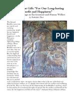 """The Greatest Gift"" Buddhist Door Global Environment Series Article_Tathālokā Dec 2017_Final Publication Copy"