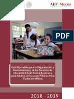 Guía Operativa Escuelas Publicas 2018 2019