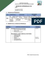 SESIÓN N°02 MODELADO CON ARCILLA