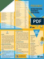 Folder PROFMAT Mestrado