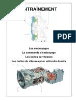 Entrainement, embrayage et b.v. mecanique.pdf