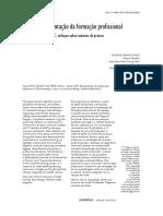 Ações de Reorientação Da Formação Profissional Em Fisioterapia Enfoque Sobre Cenários de Prática