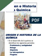 1 Origen e Historia de La Química