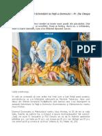 Pr. Ilie Cleopa - Predică la Praznicul Schimbării la Faţă a Domnului