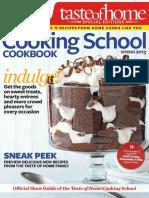 Taste of Home Cooking School - Spring 2013