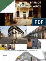 Historia,Zonificación y Reglamento