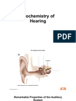 Biochemistry of Hearing
